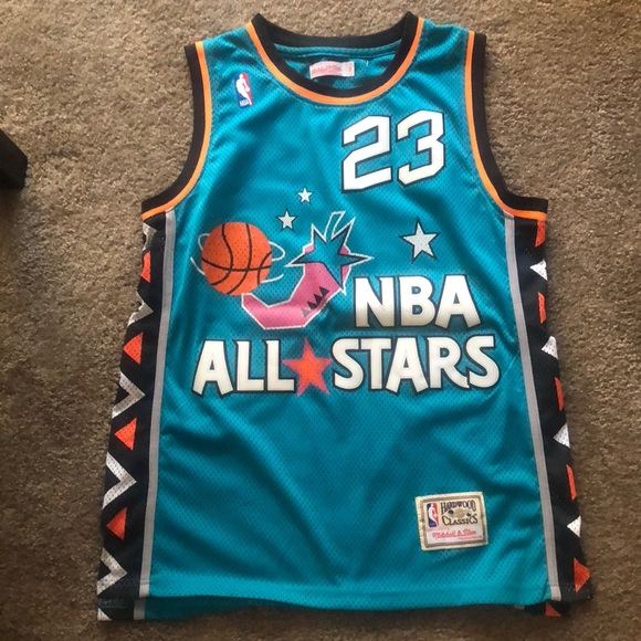 on sale 7e218 8c10d Mitchell and ness Michael Jordan all star jersey